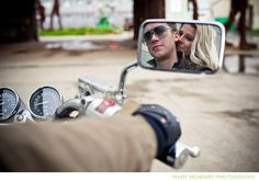 motorcycle    motorcycle photography portrait pose woman lady rider(s) in mirror