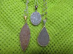 Loving the druzy stones!  www.specialadesigns.com