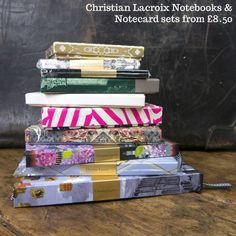 christian-lacroix notebooks and cards