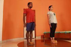 yoga block bricks tadasana - Google Search Standing Poses, Yoga Block, Restorative Yoga, Iyengar Yoga, Asana, Dresses For Work, Bricks, September, Google Search