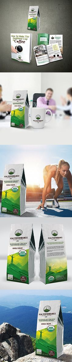 No Pesticides, Fair Trade, GMO Free, And Beans Full Of Antioxidants! USDA Certified Organic Whole Bean Coffee Ground Coffee, Peak Performance, Coffee Beans, Fair Trade, Organic, Free