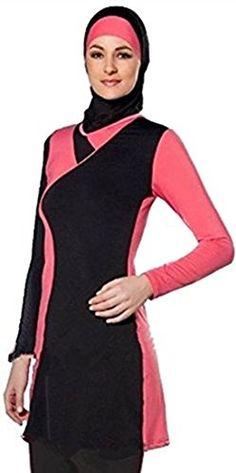 2ff5afe98e New KXCFCYS Modest Muslim Swimwear Islamic Swimsuit For Women Hijab  Swimwear Full Coverage Swimwear Muslim Swimming Beachwear Swim Suit online.