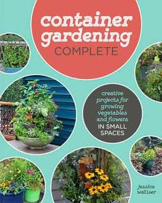 Gardening Container Container Gardening Complete by Jessica Walliser - Want to know the secret to beautiful garden containers? These plant lists tell you exactly which plants you need to create these eye-catching planters. Plants, Organic Gardening, Water Garden, Small Vegetable Gardens, Beautiful Patios, Gardening For Beginners, Growing Vegetables, Container Gardening, Urban Garden