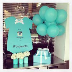 Mommy D & Co Decor #baby-shower #balloons #Instagram  #decor