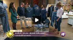 I vår ska allt vara Denim. Stylisten Niklas Berglind och modejournalisten Frida A. Zetterström har stenkoll på modeller och material. #jeans #denim #mode