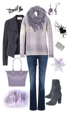 """""""Untitled #137"""" by gdhlady on Polyvore featuring Amanda Wakeley, Lee, prAna, maurices, Dorothy Perkins and Lipault"""
