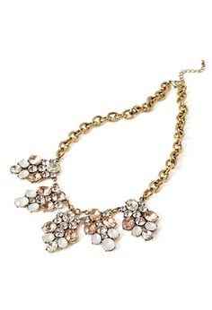 Faux Gem Cluster Necklace from Forever 21 $13,90