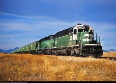 RailPictures.Net Photo: BN 6828 Burlington Northern Railroad EMD SD40-2 at Camp Dissapointment, Montana by Dave Schauer