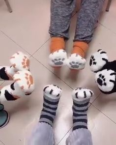 Cute Cat Claws Thick Warm Socks - Newest Trends - Cute Cat Claws Thick Warm Socks Animal paw socks Cat paws socks🐾 are made of Cotton and Spandex comfortable lightweight wearablestretchy and breathable.Keep your feet comfortable for a day not muggy.