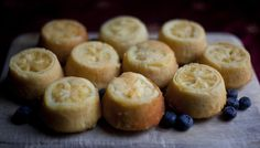 The Geeky Chef! I love this website. In this picture are the Lemon Cakes from A Song of Ice and Fire.