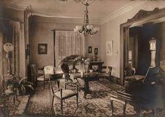 Victorian interior...   ca. 1895