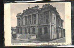 TARJETA POSTAL DE CUBA - SANTIAGO DE CUBA. PALACIO PROVINCIAL (Postales - Postales Extranjero - América - Cuba)