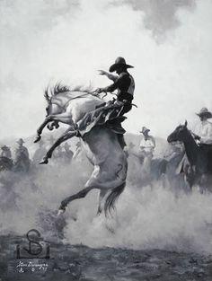 © Steve Devenyns, Western Artist