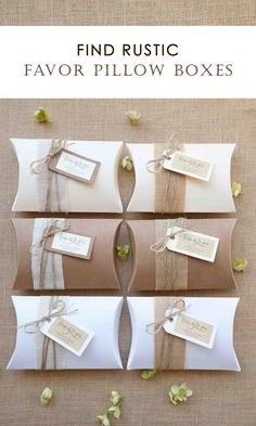 You are just a few clicks away from finding your Favor Boxes perfect for your occasion. We have a square, rectangular or pillow boxes. We create unique designs thinking of you with personalized tags, that could be useful. Handmade Wedding Invitations, Wedding Stationery, Jewelry Packaging, Gift Packaging, Bridal Showers, Baby Showers, Creative Gift Wrapping, Stationery Items, Wedding Favor Boxes