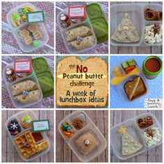 "Mamabelly's Lunches With Love: The ""No Peanut Butter"" Challenge Round Up"
