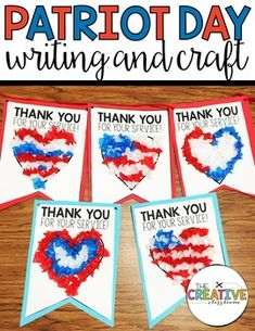 Use this activity and craft to create a memorable pennant banner for service men and women in your community as you celebrate Patriot Day and remember 9-11. String the banner together and hang this craft in your classroom and send it off to those that help protect and defend our country. The pennants also have an area for a kind letter to show your appreciation on the back.