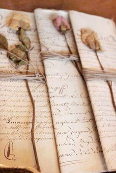 Засушенные розы для романтичных писем