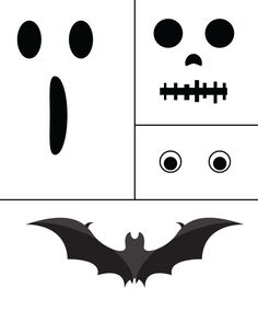 Free Halloween printable that you can print and paste on any surface! Even on mason jars and paper lanterns