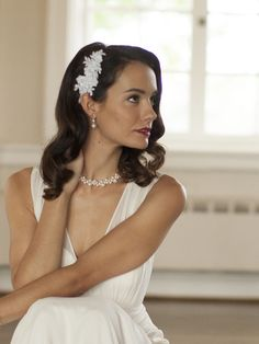 Exquisite bridal and fashion hair accessories.