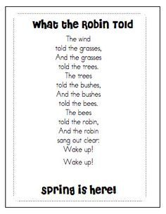 a little brown seed poem waldorf - Google Search