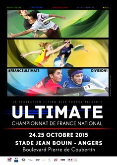 Ultimate Frisbee - Championnat de France 2016