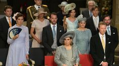 23 June 2016 - The Grand Ducal Family attends Te Deum church service for the National Day in Luxembourg