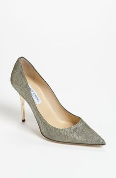 These sparkly Jimmy Choo pumps are on the wish list!
