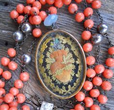 Majesty     Vintage Assemblage Necklace by HappyMoonDesigns, $438.00