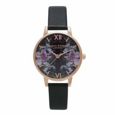 There's a new Winter Garden style on the block! We love this Black and Rose Gold Mirror Floral style <3 #oliviaburton