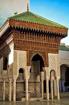QarawiyyinMosque in Fez  - Maroc Désert Expérience http://www.marocdesertexperience.com