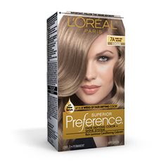superior preference fade defying hair color l oreal