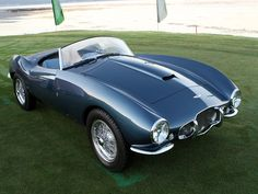 Aston Martin DB2 Bertone Spider (1954) with bodywork designed by Franco Scaglione at Carrozzeria Bertone