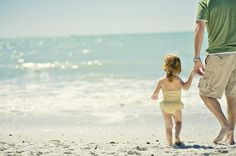 {WHAT TO WEAR} INSPIRATION  Let her wear her swimsuit...you are at the beach!