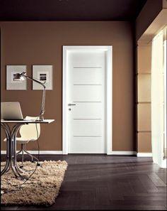 Porta Bianca In Legno Offerta Liscia Pantografata - porte d'interni vendita istallazione a milano