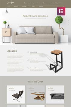 Furniture Website Template WordPress Theme 46 New Trendy Furniture, New Furniture, Furniture Design, Metal Furniture, Furniture Catalog, Furniture Websites, Furniture Movers, Furniture Stores, Furniture Makeover
