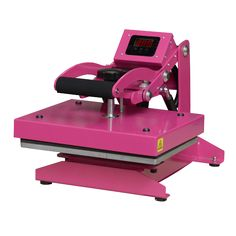 The Imprintables Pink Press is the perfect heat press for at home use, crafting businesses, and on the go shows | Imprintables.com