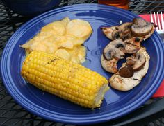 Celebrate the Day: Cheesy Potatoes and Corn on the Cob on the Grill