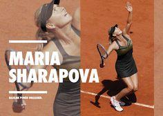 Sharapova-Tennis: MS Coleccion - Traje para Roland Garros