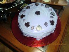 Tarta de violetas y calabaza para Beatriz