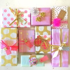 Love everyones Christmas wrapping for Little Paper Lanes xmas wrapping comp on Instagram #showmeyourchristmaswrapping