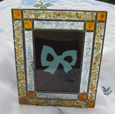 Custommade Glass Picture Frame Embellished by BellesUniqueBoutique, $11.99