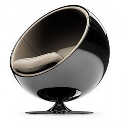 One of the most iconic chairs from Eero Aarnio´s Ball Chair, originally designed in 1963 fro Asko, Finland. Design Furniture, Chair Design, Cool Furniture, Modern Furniture, Garden Furniture, Furniture Inspiration, Design Inspiration, Design Ideas, Mid-century Modern