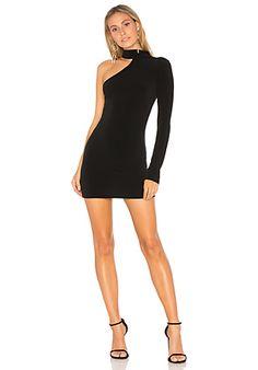 Boulee Allie Dress в цвете Черный | REVOLVE