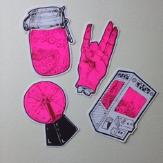 Wannabe 90's stickers от Lufaa на Etsy
