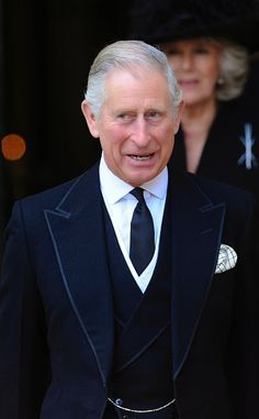 Love the suit!  Royal Family Around the World: Service Of Thanksgiving For Lady Soames at Westminster Abbey on November 20, 2014 in London, England.