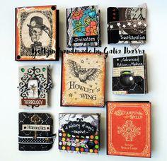 Yoltzin handmade cards: Blog hop Harry Potter, books, Graphic 45, papercrafts,