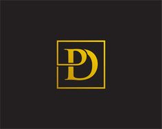 PD monogram Logo design - Very simple design for PD monogram - easy to keep in mind! Price $300.00