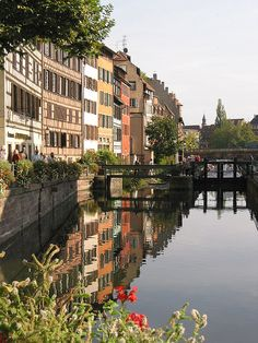 Reflections of Strasbourg,France