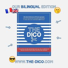 This is our #Bilingual edition artwork for the #dictionary.  @thefrenchdico #TheDico