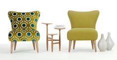 Le fauteuil Peacock Arte est un accessoire de style et de confort.